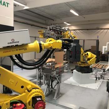 Roboterarme schaffen Platz für weitere Hände