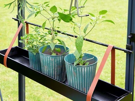 Juliana movable plant shelf