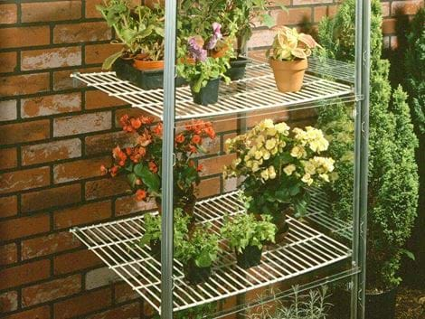 HALLS WALL GARDEN SHELF SET