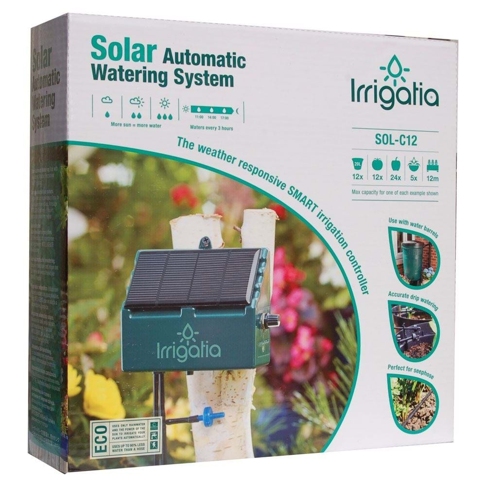 Automatisches Bewasserungssystem Solar Gewaechshauscentrum De
