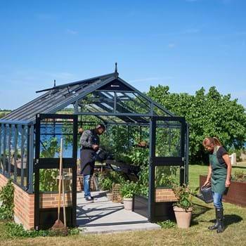 Juliana mur-modeller giver fast grund til drivhuset